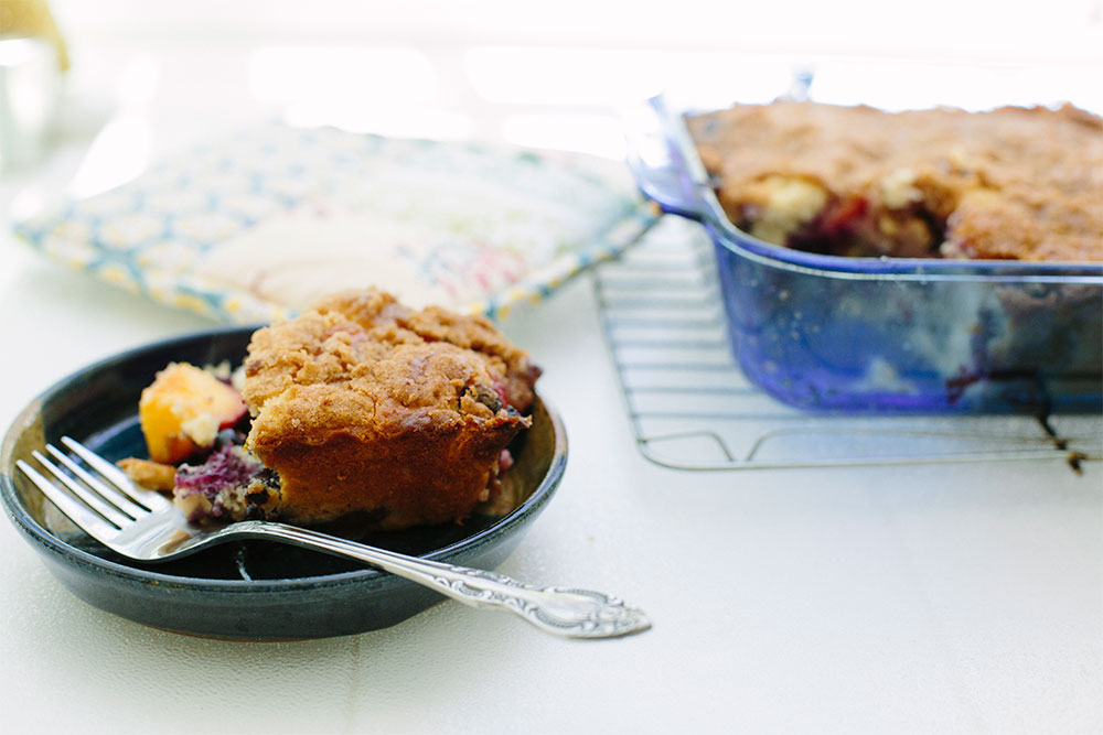 Summertime Favorite: Blueberry Buckle