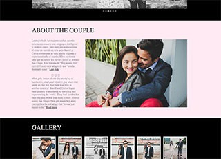 Karoll & Carlos Wedding Website
