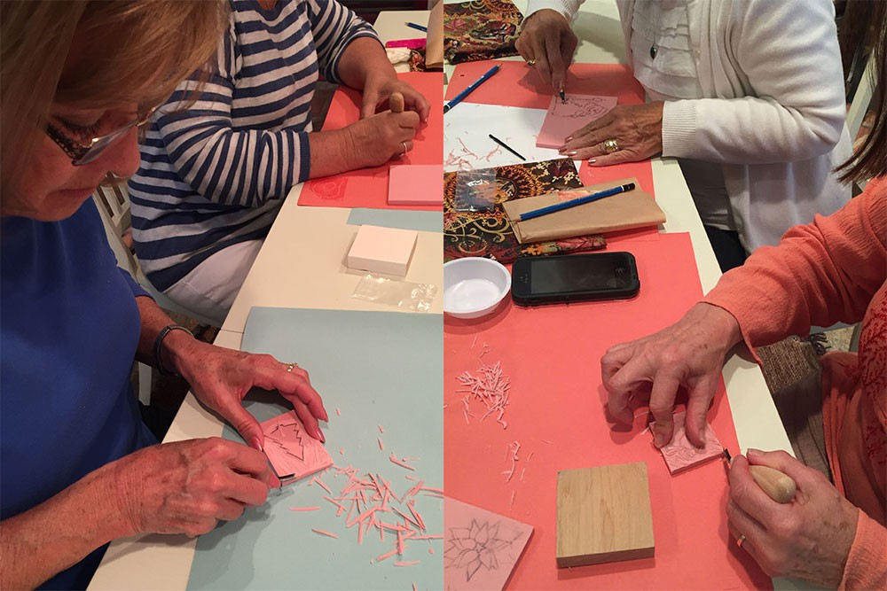 Stamp Carving Workshop