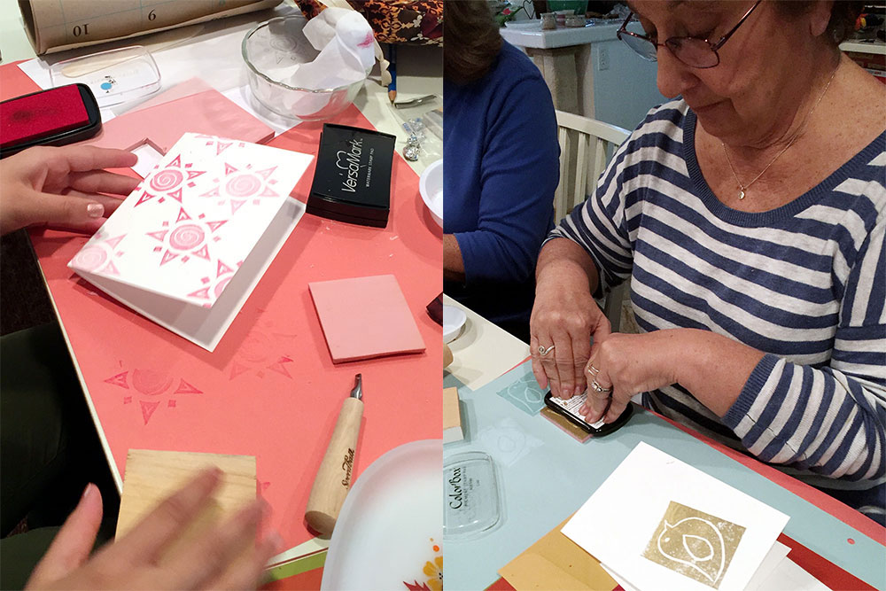 Workshop: Stamp Carving