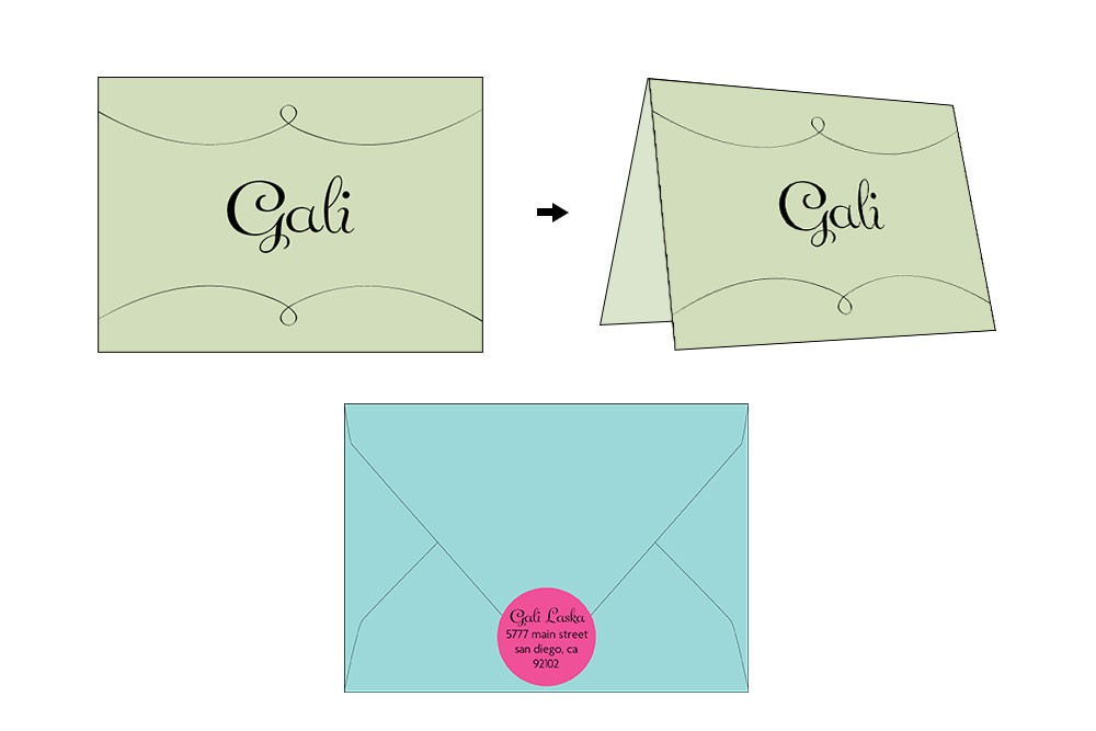 Invitation Suite Photo: Pretty in Pink Bat Mitzvah