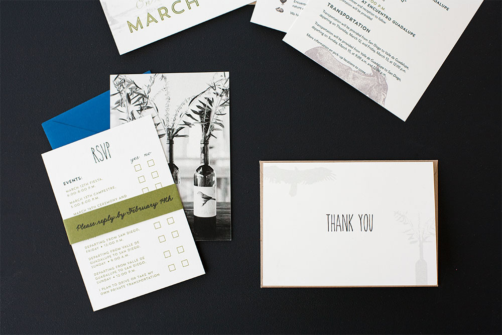 Invitations: Rustic Chic
