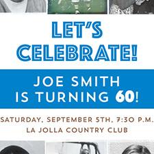 Joe Smith's 60th Birthday Party