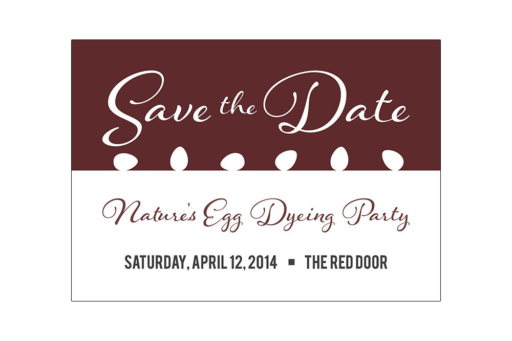The Red Door event designs
