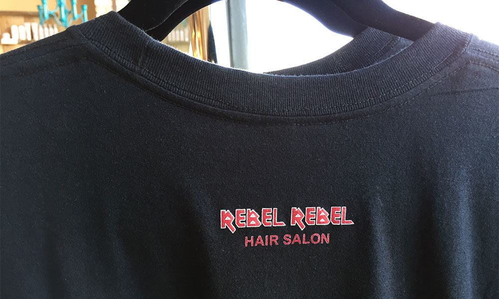 Custom Logo: Rebel Rebel Hair Salon