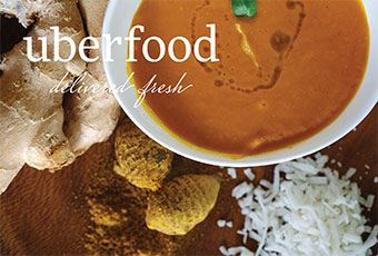 Uberfood Promotional Pieces